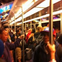 Photo taken at Las Vegas Airport Tram by Gary S. on 10/30/2011
