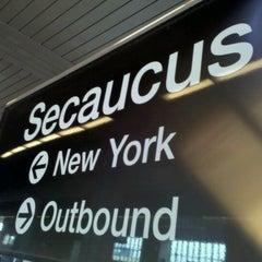 Photo taken at NJT - Frank R. Lautenberg Secaucus Junction Station by Rubenson B. on 9/1/2011