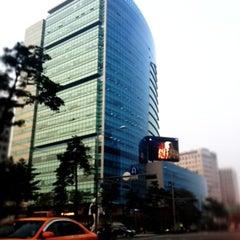 Photo taken at CJ제일제당센터 (CJ Cheiljedang Center) by Sangyoon L. on 4/23/2012