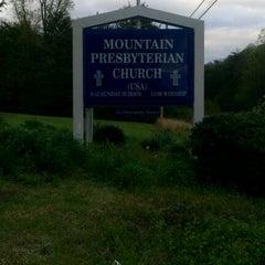 Photo taken at Mountain Presbyterian Church (PCUSA) by Dan W. B. on 4/16/2011