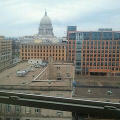 Photo taken at Hilton Madison Monona Terrace by Jody W. on 12/3/2011