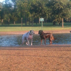 Photo taken at Bill Archer Dog Park by Michael D. on 9/3/2012