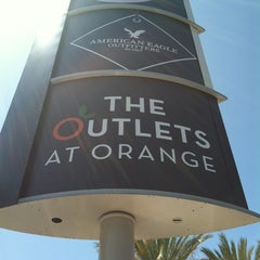 Photo taken at The Outlets at Orange by Patrick B. on 6/30/2012