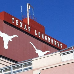 Photo taken at Darrell K. Royal-Texas Memorial Stadium by jojogray on 9/7/2012