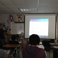 Photo taken at RHS Economics by Zachary P. on 4/18/2012