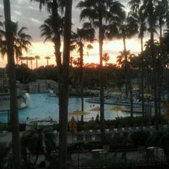 Photo taken at Orlando World Center Marriott by Chris K. on 3/27/2012