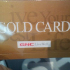 Photo taken at GNC by ThatJenniGirl on 3/26/2012
