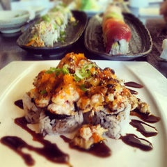 Photo taken at Fusion Sushi by Jo J. on 8/17/2012