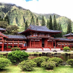 Photo taken at Byodo-In Temple by Filippo G. on 8/26/2012