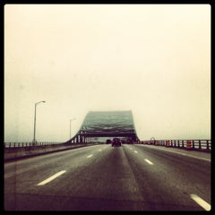 Photo taken at Piscataqua River Bridge by Andrew M. on 5/22/2012