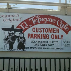 Photo taken at Manuel's Original El Tepeyac Cafe by John R. on 7/1/2012