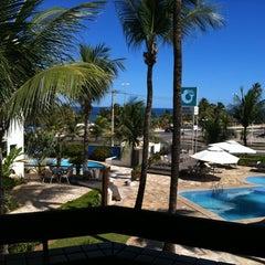 Photo taken at Mar Brasil Hotel Salvador by Ricardo V. on 4/28/2012