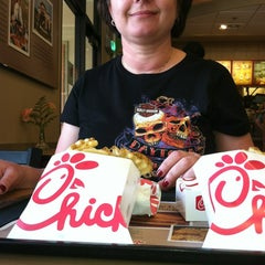Photo taken at Chick-fil-A by Scott T. on 3/17/2012
