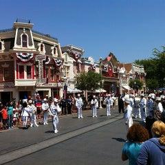 Photo taken at Main Street, U.S.A. by Mousetalgia P. on 6/17/2012