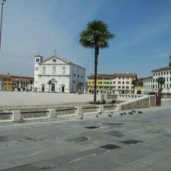 Photo taken at Piazza Grande by Ettore on 4/18/2012