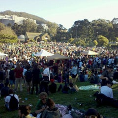 Photo taken at Hippie Hill by Nick Z. on 4/21/2012