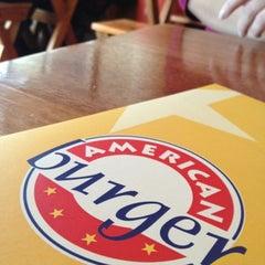 Photo taken at American Burger by eduardo c. on 9/11/2012