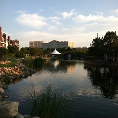 Photo taken at Centennial Lakes Park by Justin on 8/19/2011