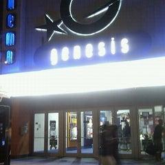 Photo taken at Genesis Cinema by David W. on 10/31/2011