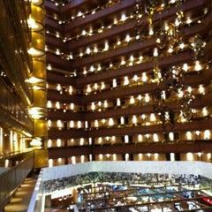 Photo taken at Sandton Sun Hotel by Rachel C. on 2/9/2012