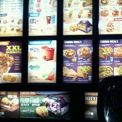 Photo taken at Taco Bell by Nancy R. on 12/23/2011