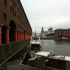Photo taken at Albert Dock by Steven A. on 5/7/2012