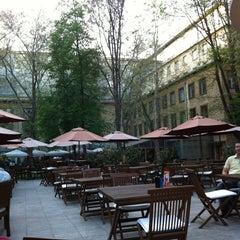 Photo taken at Cafe Pavlína by Lucie Z. on 4/28/2012