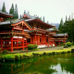 Photo taken at Byodo-In Temple by Dallas Nagata W. on 10/8/2011