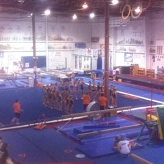 Photo taken at Gymquarters Gymnastics Center by LB P. on 3/29/2012