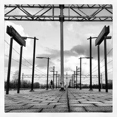 Photo taken at Station Schiedam Centrum by Ruben v. on 4/24/2012