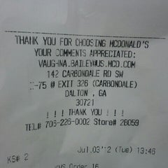 Photo taken at McDonald's by Legendary on 7/3/2012