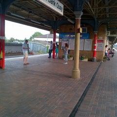 Photo taken at Warrington Bank Quay Railway Station (WBQ) by Robert F. on 8/11/2012