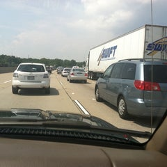 Photo taken at I-64 Exit 255: Jefferson Ave by Marion L. on 8/19/2011