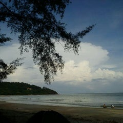 Photo taken at Pantai Cherating by Dania D. on 10/24/2011