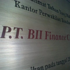 Photo taken at Bii Finance Center by Meonx S. on 2/21/2011