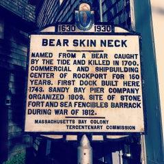 Photo taken at Rockport Harbor by Lindsay S. on 8/22/2012