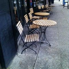 Photo taken at Uptown Espresso by Julianne J. on 10/16/2011