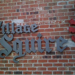 Photo taken at The Village Squire by Daniel P. on 12/29/2011