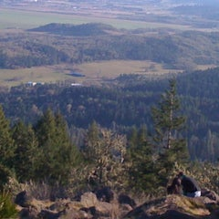 Photo taken at Spencer Butte Park by Josh R. on 1/31/2011