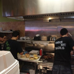 Photo taken at Towson Hot Bagels by Aimee d. on 7/14/2012