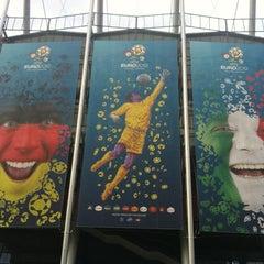 Photo taken at UEFA EURO 2012 Poland / Ukraine by Fabrizio D. on 6/28/2012