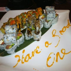 Photo taken at Red Ginger Sushi & Hibachi by Lisa H. on 9/7/2012