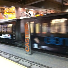 Photo taken at Castro MUNI Metro Station by JP on 12/1/2011