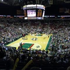 Photo taken at KeyArena at Seattle Center by Dave C. on 8/17/2012