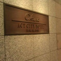 Photo taken at オークラ アクトシティホテル浜松 (Okura Act City Hotel Hamamatsu) by Takayuki N. on 5/13/2011