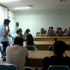 Photo taken at Universitas Al Azhar Indonesia by Mirza A. on 7/25/2012