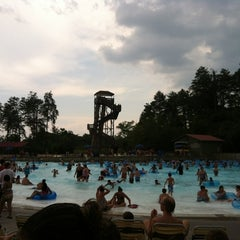 Photo taken at Dollywood's Splash Country by Dana S. on 7/8/2012