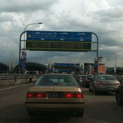 Photo taken at Tuas Checkpoint (Second Link) by Man Y. on 12/24/2010