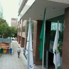 Photo taken at Tribunal Regional Federal da 1ª Região (TRF1) by Henrick A. on 12/21/2011