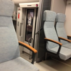 Photo taken at Malpensa Express (Cadorna) by Alessandro V. on 2/17/2012